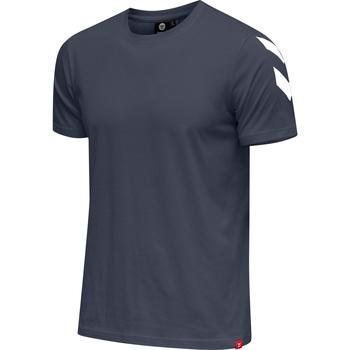 Abbigliamento Uomo T-shirt maniche corte Hummel T-shirt  hmlLEGACY chevron bleu foncé