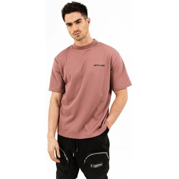Abbigliamento Uomo T-shirt maniche corte Sixth June T-shirt  essential rose