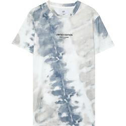 Abbigliamento Uomo T-shirt maniche corte Sixth June T-shirt  tie dye beige