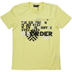 Abbigliamento Uomo T-shirt maniche corte Lebole ATRMPN-27553 Giallo