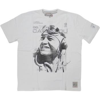 Abbigliamento Uomo T-shirt maniche corte Catbalou ATRMPN-27556 Bianco