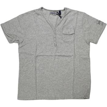 Abbigliamento Uomo T-shirt maniche corte Catbalou ATRMPN-27557 Grigio