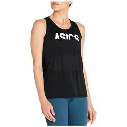 Abbigliamento Donna Top / T-shirt senza maniche Asics Esnt Gpx Tank Nero