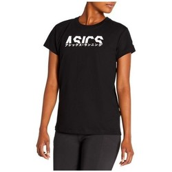 Abbigliamento Donna T-shirt maniche corte Asics Katakana Graphic Tee Nero