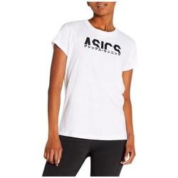 Abbigliamento Donna T-shirt maniche corte Asics Katakana Graphic Tee Bianco
