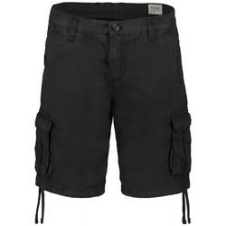 Abbigliamento Uomo Shorts / Bermuda Scout Bermuda  tascone cotone 100% (BRM10252) Nero