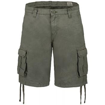 Abbigliamento Uomo Shorts / Bermuda Scout Bermuda  tascone cotone 100% (BRM10252) Verde