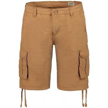 Abbigliamento Uomo Shorts / Bermuda Scout Bermuda  tascone cotone 100% (BRM10252) Marrone