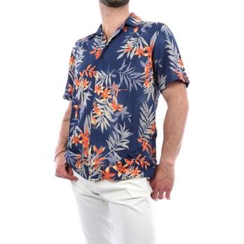 Abbigliamento Uomo Camicie maniche corte Mark Midor 1247-2174 Camicie Maniche Corte Uomo Multicolore Multicolore