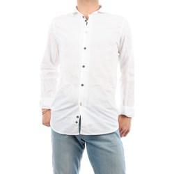 Abbigliamento Uomo Camicie maniche lunghe Mark Midor 1231-2165 Casual Uomo Bianco Bianco