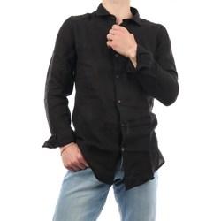 Abbigliamento Uomo Camicie maniche lunghe Mark Midor 4002-2177 Casual Uomo Nero Nero