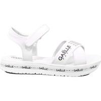 Scarpe Bambina Sandali GaËlle Paris 10 - G-824A Bianco