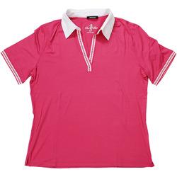 Abbigliamento Donna Polo maniche corte Elena Miro' ATRMPN-27619 Rosa