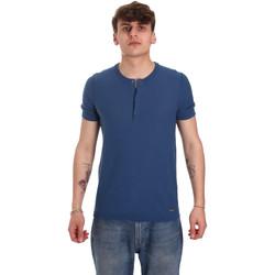 Abbigliamento Uomo T-shirt maniche corte Gaudi 011BU53007 Blu
