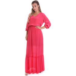 Abbigliamento Donna Abiti lunghi Gaudi 011FD15029 Rosa