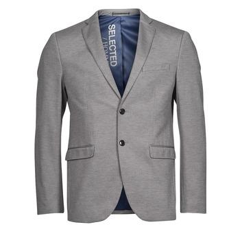 Abbigliamento Uomo Giacche / Blazer Selected SLHSLIM JIM Grigio