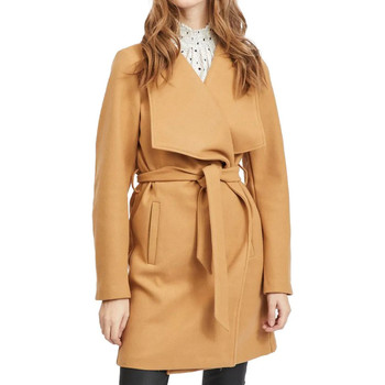 Abbigliamento Donna Cappotti Vila 14065203 Marrone