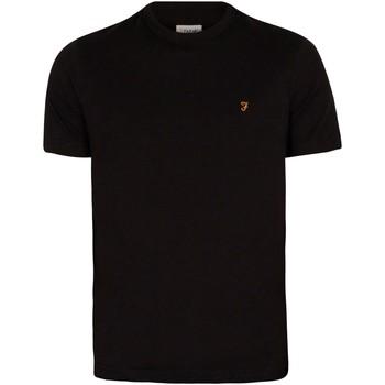 Abbigliamento Uomo T-shirt maniche corte Farah Vintage T-Shirt Danny nero