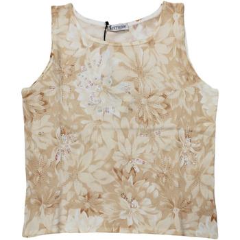 Abbigliamento Donna Top / T-shirt senza maniche Ferrante ATRMPN-27686 Arancio
