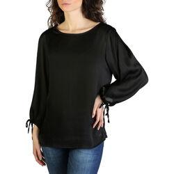Abbigliamento Donna T-shirts a maniche lunghe Yes Zee - c402_ht00 Nero