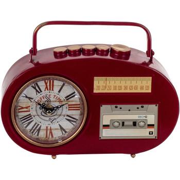 Casa Orologi Signes Grimalt Tabletop Clock Transistor Rojo