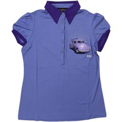 Abbigliamento Donna Polo maniche corte Diamantique ATRMPN-27696 Viola