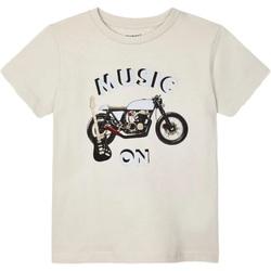 Abbigliamento Unisex bambino T-shirt maniche corte Mayoral ATRMPN-27699 Beige