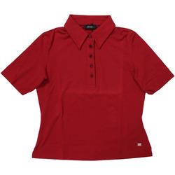 Abbigliamento Donna Polo maniche corte Diana Gallesi ATRMPN-27700 Rosso