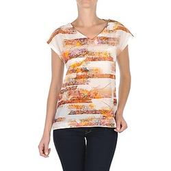 Abbigliamento Donna T-shirt maniche corte TBS JINTEE Bianco