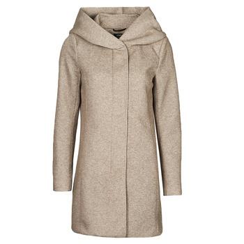 Abbigliamento Donna Cappotti Only ONLSEDONA Marrone