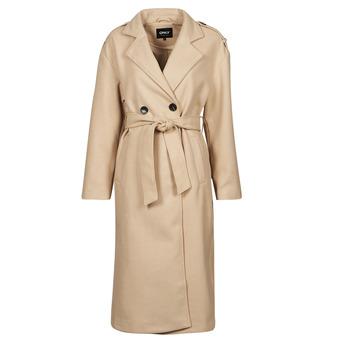 Abbigliamento Donna Trench Only ONLEMMA Beige