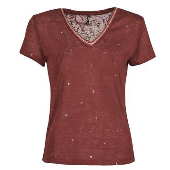 Abbigliamento Donna T-shirt maniche corte Only ONLSTEPHANIA Bordeaux