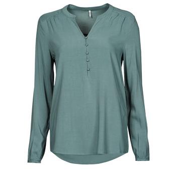 Abbigliamento Donna Top / Blusa Only ONLNEW EDDIE Verde