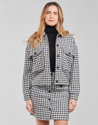 Abbigliamento Donna Giacche / Blazer Moony Mood PABLAINCOURS Nero / Bianco