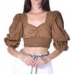 Abbigliamento Donna Top / Blusa J'aim 10664J BL TA-UNICA - Blouse  Marrone