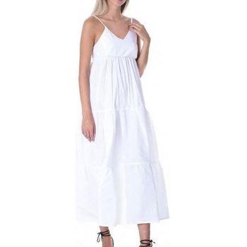 Abbigliamento Donna Abiti lunghi J'aim 10759J AB-UNICA - Abito  Bianco