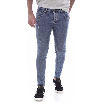 Abbigliamento Uomo Jeans skynny Goldenim Paris slim / skinny 200 - Uomo blu