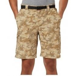 Abbigliamento Uomo Shorts / Bermuda Columbia Silver Ridge Printed Cargo Short marrone
