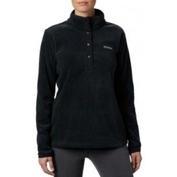 Abbigliamento Donna Felpe in pile Columbia Benton Springs 12 Snap Pullover nero