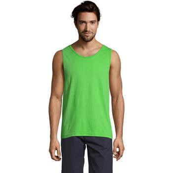 Abbigliamento Uomo Top / T-shirt senza maniche Sols Justin camiseta sin mangas Verde