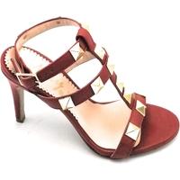 Scarpe Donna Sandali Mary 850-90P Rosso
