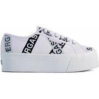 Scarpe Donna Sneakers basse Superga 2790 LETTERING TAPE JELLYSOLE Bianco