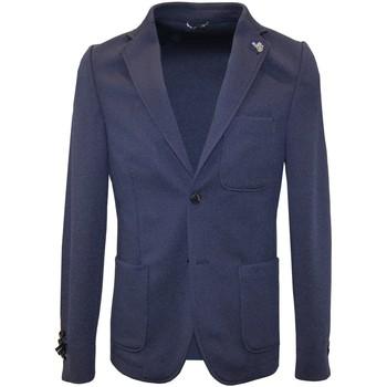 Abbigliamento Uomo Giacche Daniele Alessandrini  Blu