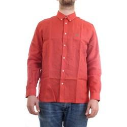 Abbigliamento Uomo Camicie maniche corte Lacoste CH4990 00 Camicia Uomo rosso rosso