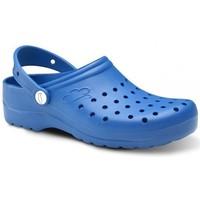 Scarpe Uomo Zoccoli Feliz Caminar Zuecos Sanitarios Flotantes Gruyere - Blu