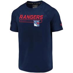 Abbigliamento Uomo T-shirt maniche corte Fanatics MA0845062N9X8 Blu