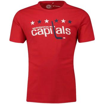 Abbigliamento Uomo T-shirt maniche corte Fanatics 1878MURD3ADWCA Rosso