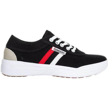 Scarpe Uomo Sneakers basse Kawasaki FOOTWEAR - Leap retro canvas shoe - black Nero