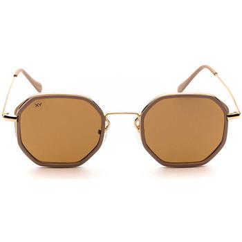 Orologi & Gioielli Occhiali da sole Sunxy Leucade Oro