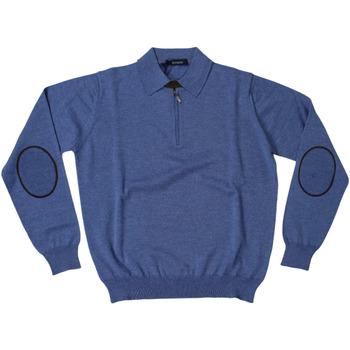 Abbigliamento Uomo Polo maniche lunghe Ferrante ATRMPN-27825 Blu
